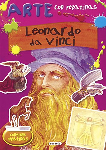 Leonardo da Vinci (Arte con pegatinas) por José Morán