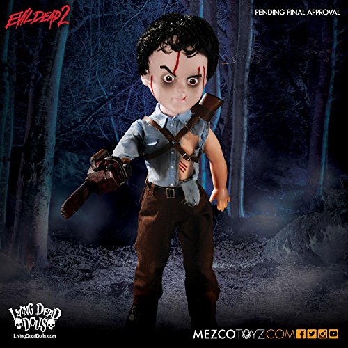 Close Up Figura Living Dead Dolls - Evil Dead 2/Ash