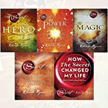 Rhonda Byrne Collection The Secret Series 5 Books Bundle (Hero, The Power, The Magic [Paperback], The Secret, How The Secret Changed My Life: Real People. Real Stories)