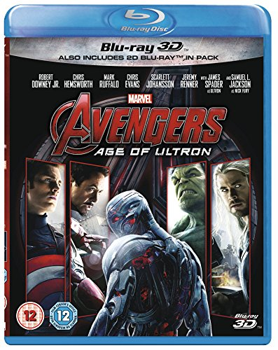 Avengers: Age of Ultron (3D) [Blu-ray] [UK Import]