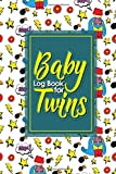 Best Baby Monitors For Twins - Baby Log Book for Twins: Baby Feeding Log Review