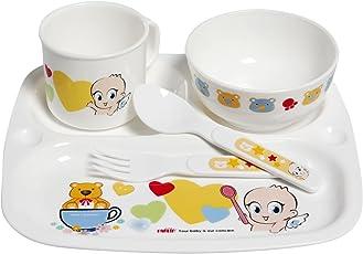 Farlin Tableware Set (White)