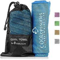 COOLcessories Mikrofaser Quick Dry Handtuch Kühlung: Stay Cool Gym Handtücher für Hals & Body–Schnelltrocknend... preisvergleich bei billige-tabletten.eu
