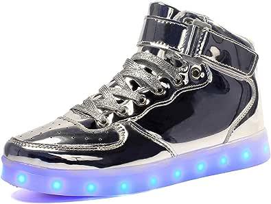 Bambini LED Lampeggiante Scarpe per Ragazzi e Ragazze