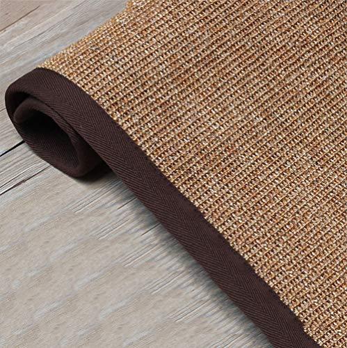 Atmungsaktive Leinen Sisal Teppich,Anti-rutsch Weicher Hand-Woven Jute Tür Mat Wohnzimmer Schlafzimmer Cat Scratch Board-h 80x120cm(31x47inch) - Mat-board-speicher