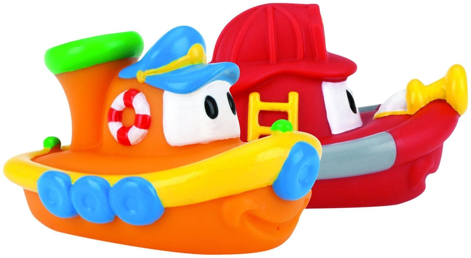 Nuby Bath Boat Floaties (Assorted designs, Pack of 2) Fish Toy Kids ...