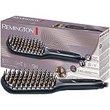 Remington Brosse Lissante Ionique Céramique Avancée, Lisse, Chauffe, Démêle, Cheveux Brillants et Doux - CB7400