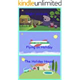 Storybook Collection: Night Animals, Flying on Holiday and The Holiday House - Great Picture Book For Kids