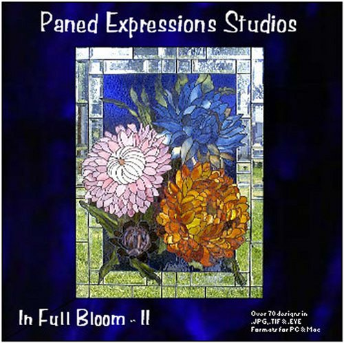Stained Glass Pattern Collection - In Full Bloom (Bloom Stained Glass)