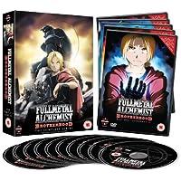 Fullmetal Alchemist Brotherhood Complete Series Collection