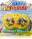 #9: Fish Catching Game with 2 Pools,12 Small Multicolored Fishes,2 Magnetic Fishing Rods (2Players Game)