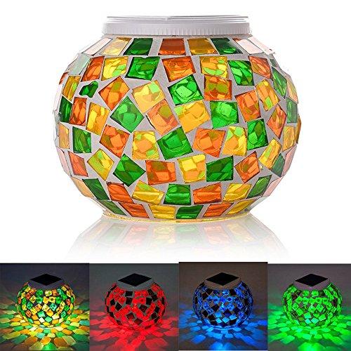 Lampes Solaire Mosaique