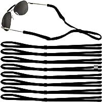 Emooqi Cordon sport pour lunettes et lunettes de soleil, ajustement universel Corde de lunettes, lunettes Système de…