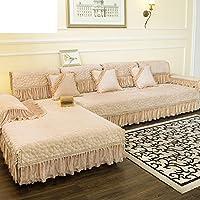 Divano cuscini/ cuscino/[Continental Fodera]/Coperchio anti-scivolo semplice asciugamano moderno delle quattro