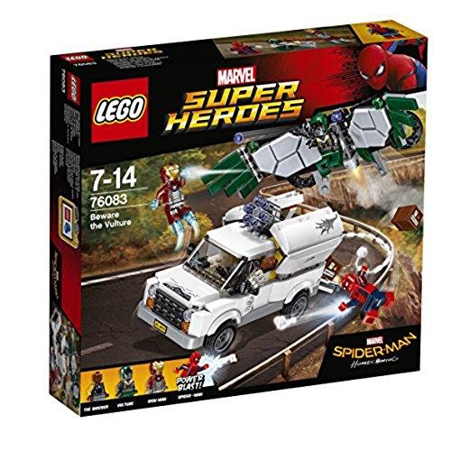 Minifiguren Lego-bösewichte (LEGO Marvel Super Heroes 76083 - Hüte dich vor Vulture, Superhelden-Spielzeug)