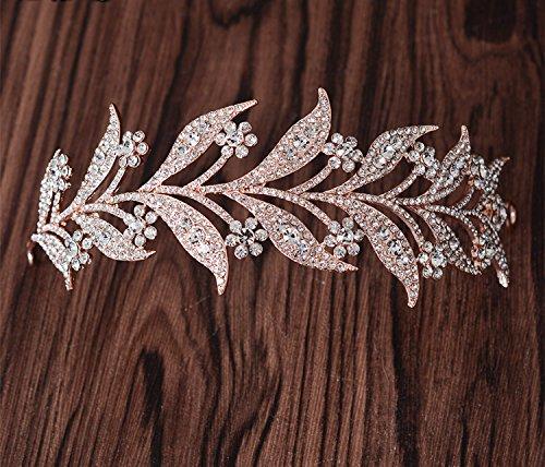 KPHY-Eine Braut Koreanischen Kopfschmuck Diamond - Legierung Lässt Haare Ornamente Hochzeitskleid...