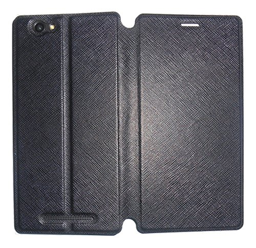 Mercator Premium Diary Flip Cover for Xolo Era 4G - Black