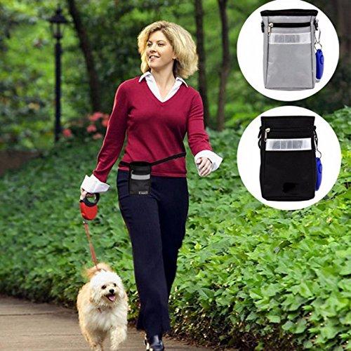 UEETEK Animale domestico Clicker Training con cinturino da polso pack cane addestramento Clicker Set-A di 7