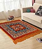 #7: Online Quality Store Perfect Pooja Aasan (2*2 Foot ,Multi,Cotton,Medium)