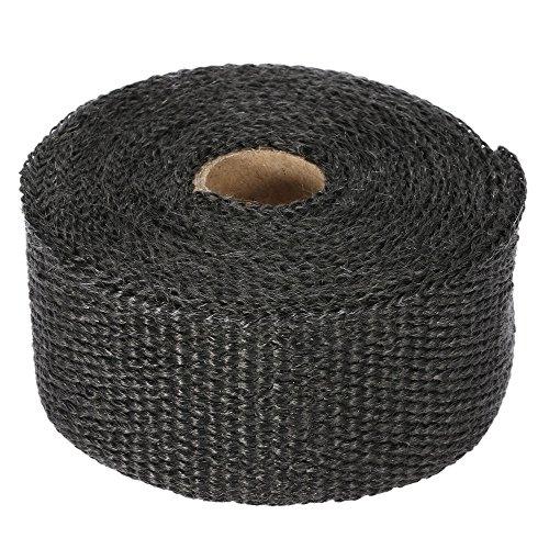 Preisvergleich Produktbild KKmoon Thermisches Isolierband für den Auspuff 10m Kollektor, 10Stück 30cm, für Auto und Motorrad