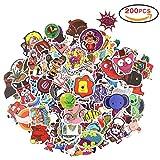 Isuper Stickers Pack 200pcs Decal Stickers Art Graffiti Super Cool Paper Stickers for Macbook, Laptop, Skateboard, Snowboard, Luggage Suitcase, iPhone, Car, Bike Bumper