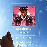 zouwii - Placa de música personalizada de acrílico, con código de Spotify