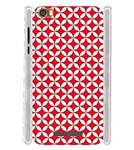 Red Checks Pattern Soft Silicon Rubberized Back Case Cover for Lava Iris X8 :: Lava Iris X8 4G