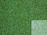 Ta-Bo Lifestyle Premium Kunstrasen Rasenteppich grün 10 mm mit Noppen 200 cm breit