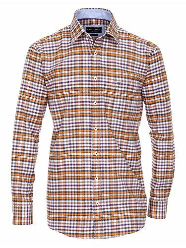 CASAMODA Messieurs Chemise d'affaires 431861300 manches longues regular fit Multicolore
