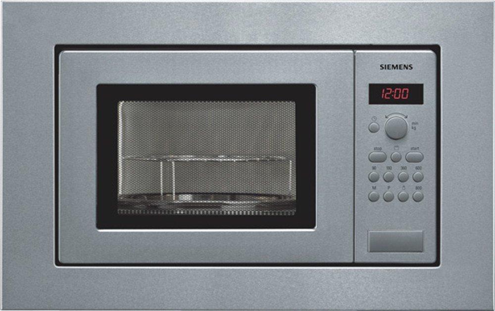 Siemens HF15G561 – Microondas, 1270 W, 10A, 50Hz, 230V, Acero inoxidable, 18000 g, 290 x 274 x 194 mm