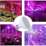 VastSean 200 Greenhouse LED Grow Light Lamp - 7W E27 (166 Red + 34 Bleu) hydroponique Lamp for Indoor Garden Flower Plantes croissance végétale [Classe énergétique A +++]