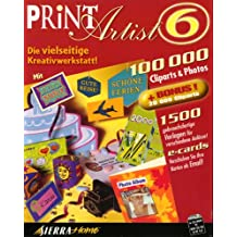 Print Artist 6.0. 4 CD- ROM für Windows 95/98/ NT 4.0