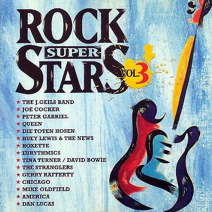 Centerfold and other ROCKHITS (CD Compilation, 15 Tracks, Various, Diverse Artists, Künstler) Peter Gabriel - Sledgehammer / Queen - Friends Will Be Friends / Eurythmics - Sexcrime (Nineteen Eighty Four) / America - The Last Unicorn / Mike Oldfield - Moonlight Shadow u.a.