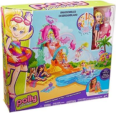 POLLY POCKET - DOLPHIN SPLASH 'N FLIP (CFP25) by Polly Pocket