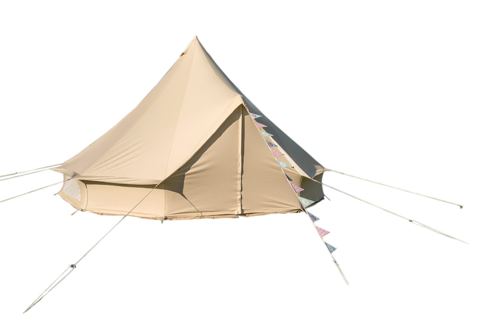 Bell Tent 5 metre with zipped in groundsheet by Bell Tent Boutique 5