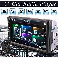 Sedeta® 7 pulgadas 2DIN Car MP5 Player Receptor estéreo del coche de la radio HD de la pantalla táctil de Bluetooth sin cámara trasera