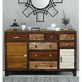 JAE Wooden Designer Sideboard | Wooden Cabinet for Living Room | Cabinet for Storage Wooden Furniture | Big Size Sideboard Ca
