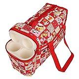Cutieco Multipurpose Diaper Bag, Red