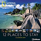 National Geographic 12 Places to stay 2019 Broschürenkalender - Naturkalender teNeues