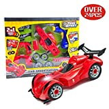 OleOletOy der Erste 4WD RC Bausatz für Kleine Mechaniker , Kinder Montage Spielzeug Auto - Super Spaß Beim zusammenbauen und Schrauben Stem Spielzeug