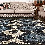 YZGH stile americano Retro tappeto soggiorno tavolino da caffè tampone Camera da letto capezzale tappeto studia tappeto , D , 140*200cm