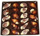6 Boxen a 250g Belgische Meeresfrüchte Pralinen Chocalate Seashells
