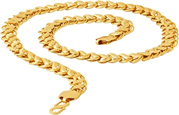 Voylla Gold Plated Chain for Men (8907617317724)