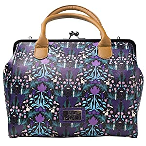 Bioworld Disney Mary Poppins All-Over Print Shopper Bag Koffer 34 centimeters 25 Violett (Multicolour)