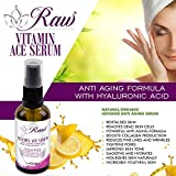 Vitamin ACE Serum Face, Vitamin C Serum Face Fused with Vitamins A & E and Hyaluronic Acid, Blended for Natural Skin Nourishment Reducing Fine Lines & Wrinkles, PREMIUM Anti Aging and Anti Wrinkle Serum, Helping You Look and Feel Naturally Beautiful.