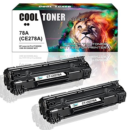 Cool Toner Kompatible Toner CE278A für HP LaserJet M1536 MFP M1536DNF P1560 P1566 P1606 P1606DN, Schwarz 2.100 Seiten (Hp Laserjet P1606dn)