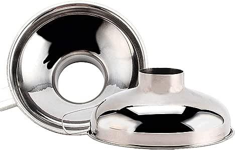 Trichter-Set 3 Stück Marmeladentrichter Edelstahl Einfülltrichter mit Griff