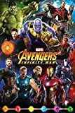 Marvel Comics PP34296 Avengers: Infinity War (Characters) Maxi Poster, Papier, Multicolore, 61 x 91,5 cm