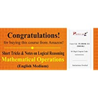 Practice Guru Short Tricks and Notes on Logical Reasoning - Mathematical Operations (Activation Key Card)