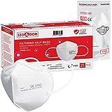 Masker 25x FFP2 NR Gecertificeerd volgens CE Norm EN149 - Wegwerpmasker voor ademhalingsbescherming - Hoge filterefficiëntie